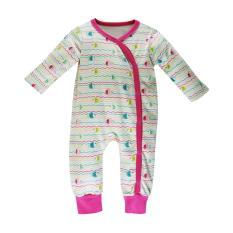 Set Bodysuit, áo liền quần Baby Gear cho bé gái ( họa tiết cá)