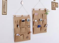 Túi treo tường vải bố Cổ Điển