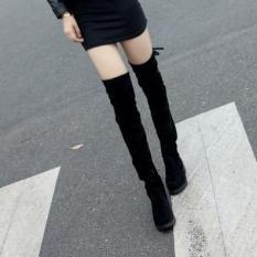Bốt nữ cao cổ thời trang BOOT03 Zavans (Đen)
