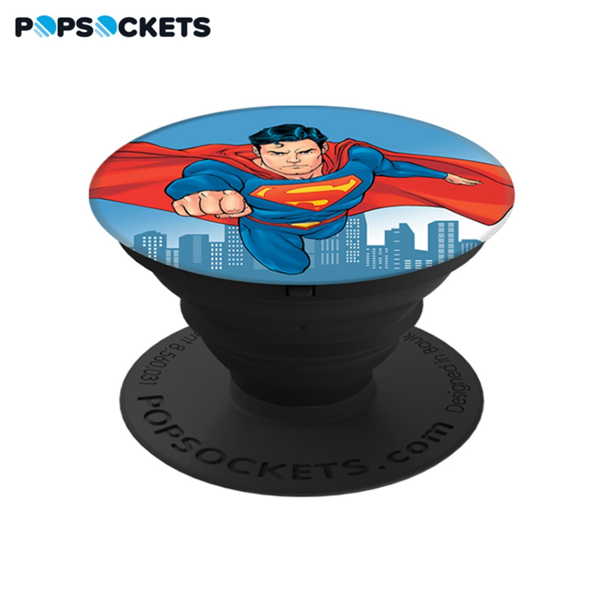Giá Đỡ Điện Thoại Thời Trang PopSockets Superman BK BK
