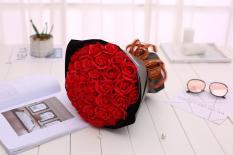 Quà tặng yêu thương- hoa hồng sáp MARKETVIETNAM bó 33 bông dễ thương lãng mạng