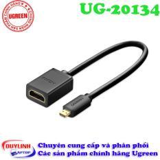 Cáp chuyển Micro HDMI to HDMI âm 20cm Ugreen 20134
