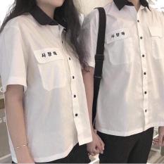 ÁO SƠ MI NAM NỮ THỜI TRANG HÀN QUỐC T19959
