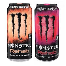 Monster Energy Rehab combo 473ml (Peach/raspberry)