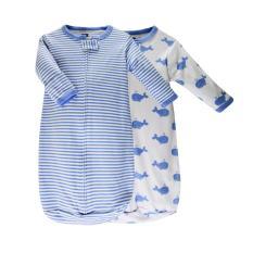 Túi Ngủ Sơ Sinh Hudson Baby Cho Bé Trai (100% Cotton Chất Lượng)