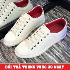 Giày Sneaker Nam Trắng 2018 (Giá Siêu Sốc) – KINGSHOES (KS21)