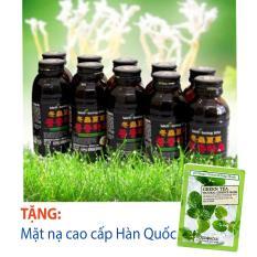 Hộp 10 lọ Nước đông trùng hạ thảo Hàn Quốc + tặng mặt nạ cao cấp Hàn Quốc [SuPhat Shop]