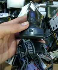 Đèn led đội đầu zoon dùng pin AAA