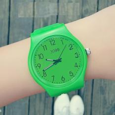 Đồng hồ thời trang unisex (nam – nữ) dây cao su cao cấp Geneva PKHRGE056