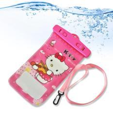 Combo 5 túi đựng điện thoại chống nước có hình ảnh đẹp ( Dùng được trên mọi loại điện thoại )