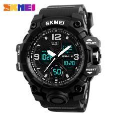 Đồng hồ thể thao nam – đồng hồ điện tử chống nước dây cao su Skmei 1155B – chính hãng