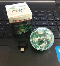 Đèn USB Vũ Trường, Đèn Led Tròn Chớp Tắt Theo Nhạc Độc Đáo Kết Nối Điện Thoại