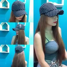 Mũ lưỡi trai nón kết chấm bi nam nữ
