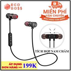 Tai nghe Bluetooth S8 – Tai nghe không dây + Tặng kèm dây sạc 28K – Eco Boss