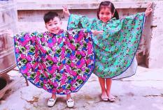 Áo mưa trẻ em thời trang cao cấp(giao màu ngẫu nhiên)