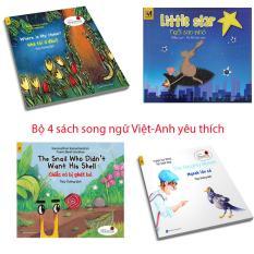 Bộ 4 truyện tranh song ngữ Việt Anh trẻ em được yêu thích nhất