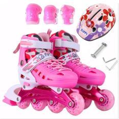 Giày Patin , Giày Patin Trẻ Em TTS- PT168 Cao Cấp+ Tặng Kèm Bộ Đồ Bảo Hộ An Toàn Cho Trẻ -Bảo Hành 1 Đổi 1 Bởi Tinh TẾ Store