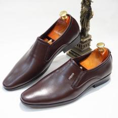 Giày Tây Nam Trơn Lịch Lãm Sang Trọng- TN chất da tổng hợp (da pu) Phong cách thời trang lịch lãm, thời thượng