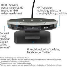 Webcam Livestream Full HD 1080P HP 4310