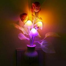 Đèn ngủ hình nấm cảm ứng đổi màu siêu đẹp