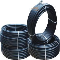Dây ống nhựa PE 8 ly dùng cho máy phun sương cuộn 100m (màu đen)