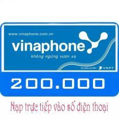 Nạp tiền Vinaphone 200k