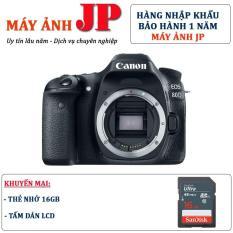 Canon 80D body (Hàng nhập khẩu) – Tặng thẻ 16G