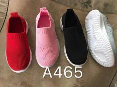 giày lười (màu đỏ)cho bé trai,bé gái, êm chân ôm chân