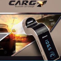 Tẩu Máy nghe nhạc Bluetooth Mp3 trên Tẩu ô tô kết nối qua sóng FM radio- kết hợp cổng sạc USB G7