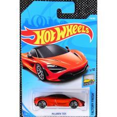 Ô tô mô hình tỉ lệ 1:64 Hot Wheels 2018 Mclaren 720S 178/365 ( màu Cam )
