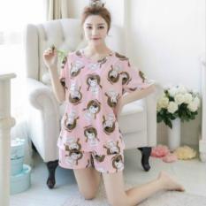 Đồ bộ nữ mặc nhà mùa hè hàng Quảng Châu quần đùi( Nhiều mẫu)