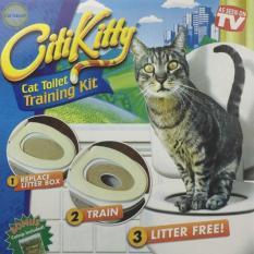 Ghế huấn luyện mèo đi vệ sinh đúng chỗ