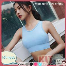 Áo Bra lót ngực thể thao nữ Vingr – Hàng nhập khẩu (đồ tập quần áo gym, thể dục,thể hình, yoga) KIT Sport