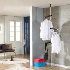 Giá treo quần áo xếp gọn đa năng phù hợp cho căn hộ nhỏ, phòng trọ sinh viên