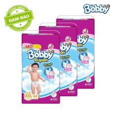 Bộ 3 gói tã quần Bobby XXL44 (>16kg)