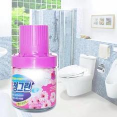 Chai sáp thơm thả bồn cầu diệt khuẩn khử mùi tạo hương – MS