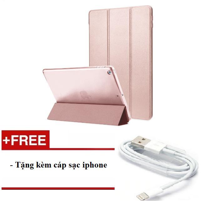 Bao da cho ipad mini 123/ Ipad mini 4/ Ipad air/ Ipad air 2/ Ipad new 2017/ Ipad 234/ Ipad pro 9.7 – tặng kèm cáp sạc iphone
