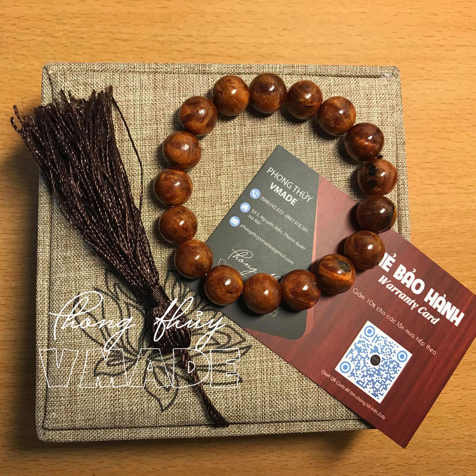 Vòng gỗ huyết long – Vòng tay phong thủy huyết rồng – Vòng huyết long NU