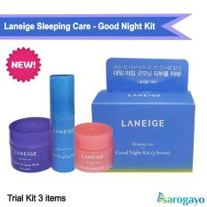 [NEW] Kit Mặt Nạ Ngủ Sleeping Care Good Night Kit [3 Items]