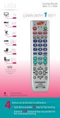 Điều khiển remote học lệnh Chunghop L403E 4 in 1- LƯU TRỮ VĨNH VIỄN
