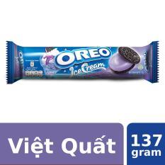 Bánh Quy Oreo Vị Kem Lạnh Việt Quất 137g