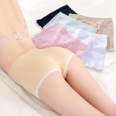 Quần đùi short nữ mặc trong váy gân tăm (túi zip loại 1)
