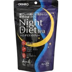Trà Giảm Cân Night Diet Tea Từ Thảo Dược Thiên Nhiên Loại 20 Gói Nhật Bản Date Năm 2020
