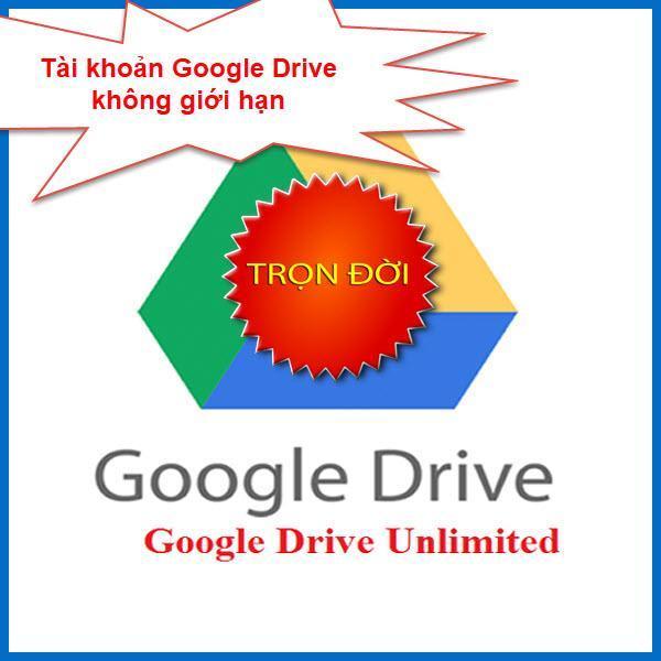 Bảng Giá Tài khoản Google Drive Unlimited không giới hạn Tại AI Marketing Studio