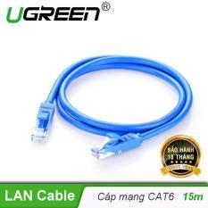 Dây mạng bấm sẵn 2 đầu Cat6 UTP Patch Cords dài 15M UGREEN NW102 11207 – Hãng phân phối chính thức