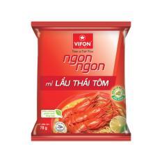 Thùng 30 Gói Mì Ngon Ngon Lẩu Thái Tôm 70g Vifon