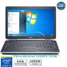Laptop Dell Latitude E6430 Core i5 3210 4G/320G – Hàng nhập khẩu- Tặng Balo, chuột không dây