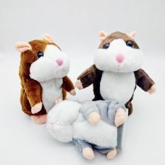 Chuột HAMSTER nhại tiếng biết nhảy cho bé Talking Hamster (NÂU)