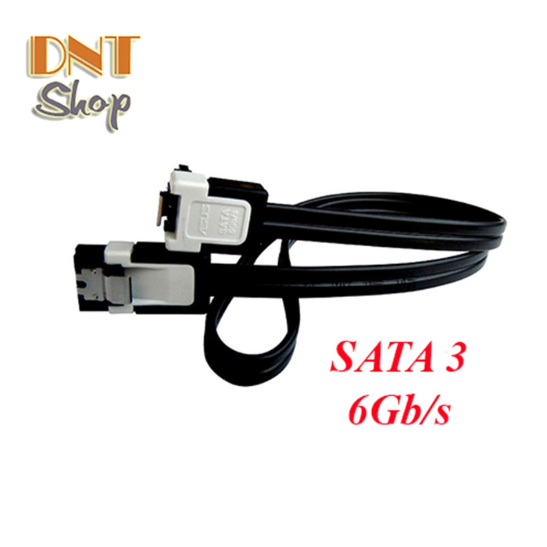 Cáp | Cable SATA 3 (6Gb/s) – Hàng Zin theo Main Giga/Asus dùng cho Máy Bàn/Server