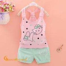 Bộ đồ bé gái mùa hè bộ quần áo bé gái đẹp GLSET008
